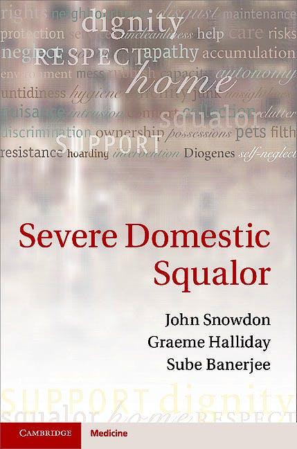 Portada del libro 9781107012721 Severe Domestic Squalor