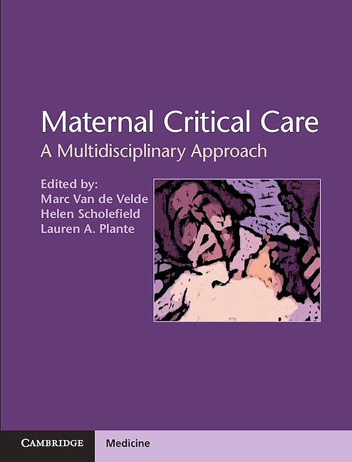 Portada del libro 9781107018495 Maternal Critical Care. a Multidisciplinary Approach