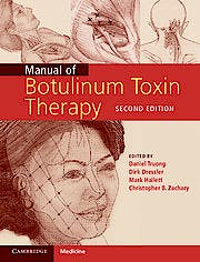 Portada del libro 9781107025356 Manual of Botulinum Toxin Therapy