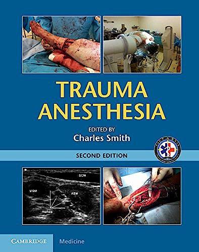 Portada del libro 9781107038264 Trauma Anesthesia