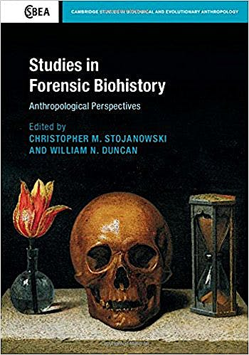 Portada del libro 9781107073548 Studies in Forensic Biohistory. Anthropological Perspectives