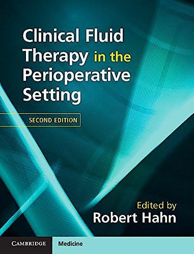Portada del libro 9781107119550 Clinical Fluid Therapy in the Perioperative Setting
