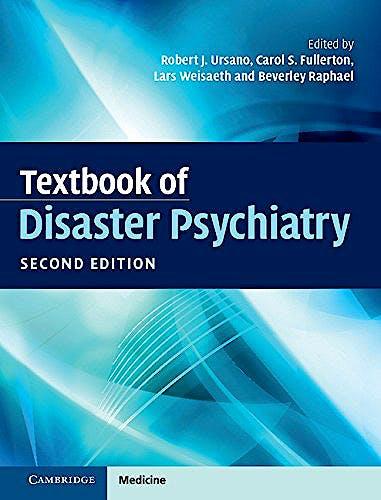 Portada del libro 9781107138490 Textbook of Disaster Psychiatry