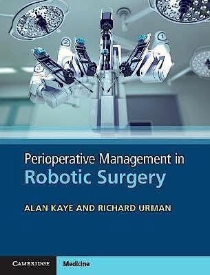 Portada del libro 9781107143128 Perioperative Management in Robotic Surgery