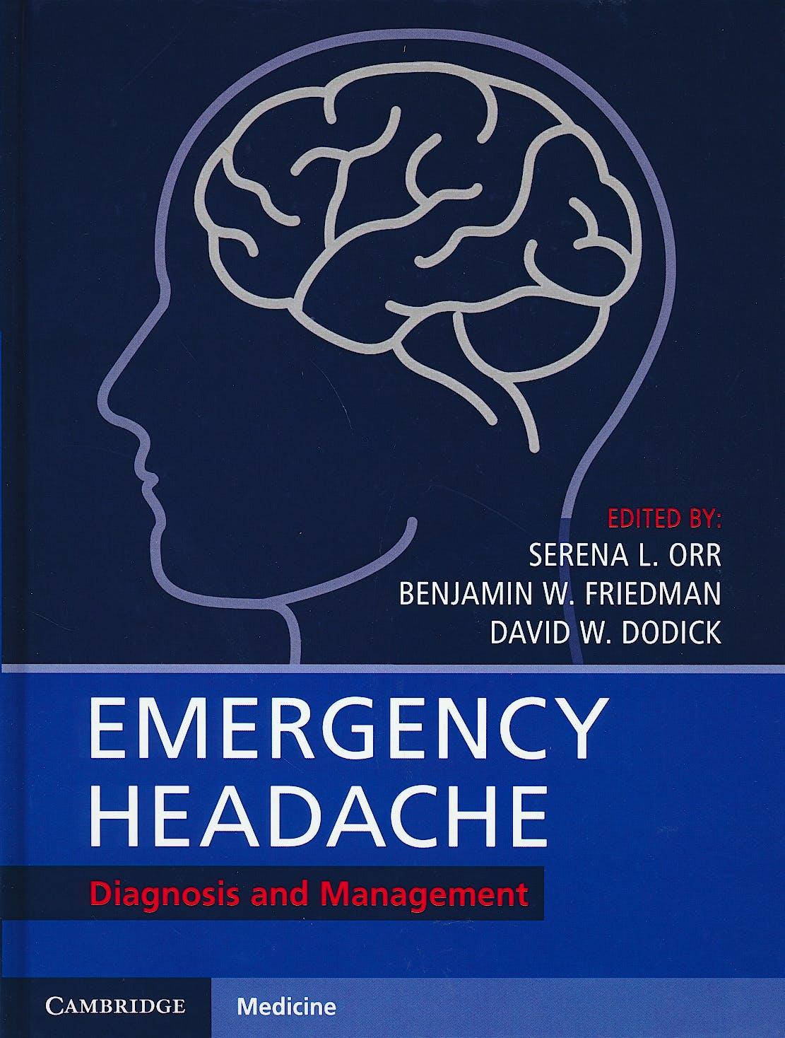Portada del libro 9781107177208 Emergency Headache. Diagnosis and Management