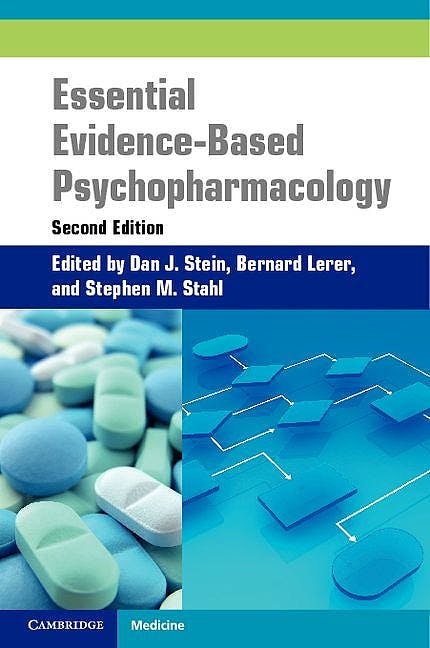 Portada del libro 9781107400108 Essential Evidence-Based Psychopharmacology (Softcover)