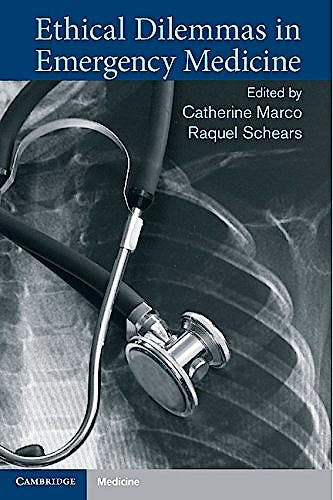 Portada del libro 9781107438590 Ethical Dilemmas in Emergency Medicine