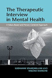 Portada del libro 9781107499089 The Therapeutic Interview in Mental Health. A Values-Based and Person-Centered Approach