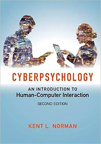 Portada del libro 9781107500556 Cyberpsychology. an Introduction to Human-Computer Interaction