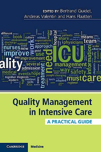 Portada del libro 9781107503861 Quality Management in Intensive Care. A Practical Guide