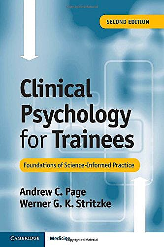 Portada del libro 9781107613980 Clinical Psychology for Trainees. Foundations of Science-Informed Practice