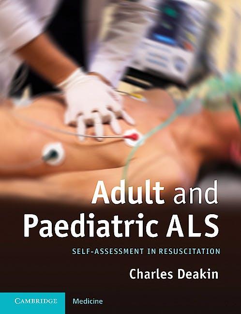 Portada del libro 9781107616301 Adult and Paediatric Als. Self-Assessment in Resuscitation