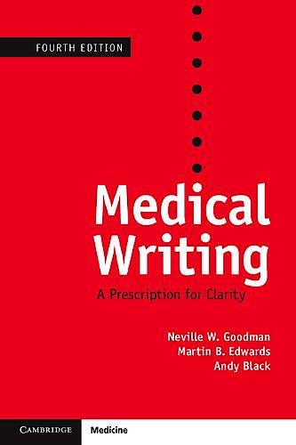 Portada del libro 9781107628151 Medical Writing. A Prescription for Clarity