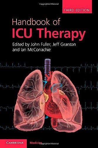 Portada del libro 9781107641907 Handbook of Icu Therapy
