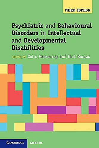 Portada del libro 9781107645943 Psychiatric and Behavioral Disorders in Intellectual and Developmental Disabilities