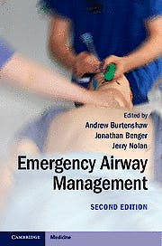 Portada del libro 9781107661257 Emergency Airway Management