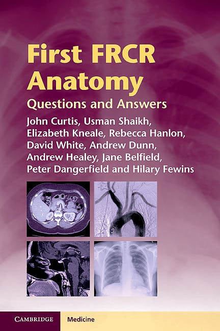 Portada del libro 9781107679498 First Frcr Anatomy. Questions and Answers