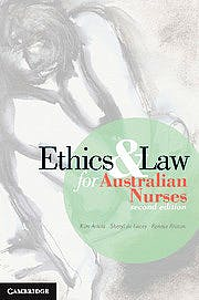 Portada del libro 9781107687820 Ethics and Law for Australian Nurses