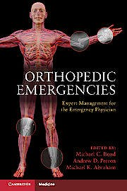 Portada del libro 9781107696617 Orthopedic Emergencies. Expert Management for the Emergency Physician