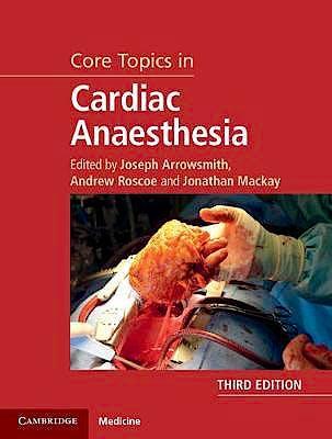 Portada del libro 9781108419383 Core Topics in Cardiac Anaesthesia