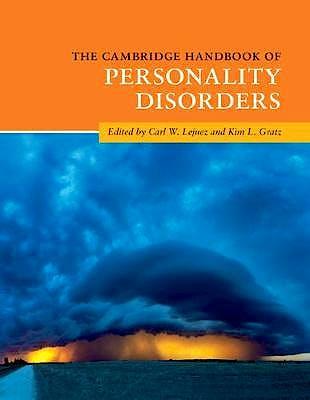 Portada del libro 9781108440097 The Cambridge Handbook of Personality Disorders