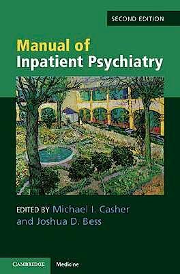Portada del libro 9781108461016 Manual of Inpatient Psychiatry