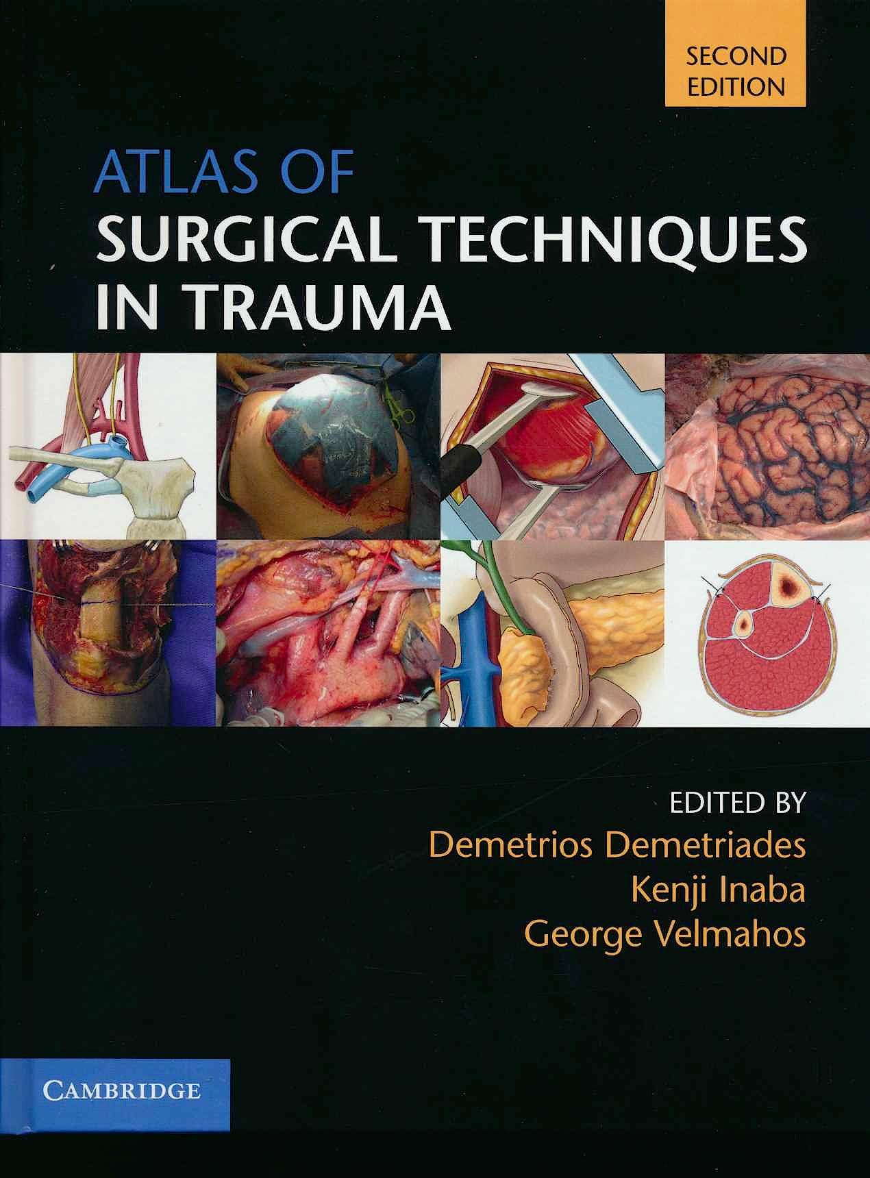 Portada del libro 9781108477048 Atlas of Surgical Techniques in Trauma