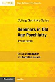 Portada del libro 9781108723985 Seminars in Old Age Psychiatry