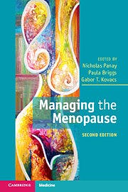 Portada del libro 9781108798754 Managing the Menopause