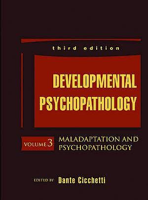 Portada del libro 9781118120927 Developmental Psychopathology, Vol. 3: Maladaptation and Psychopathology
