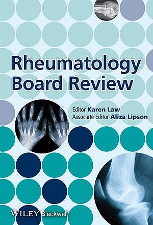Portada del libro 9781118127919 Rheumatology Board Review