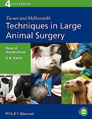Portada del libro 9781118273234 Turner and Mcilwraith's Techniques in Large Animal Surgery