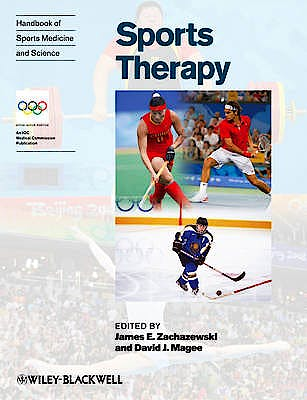Portada del libro 9781118275771 Handbook of Sports Medicine and Science. Sports Therapy