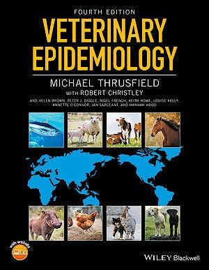 Portada del libro 9781118280287 Veterinary Epidemiology