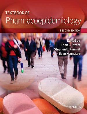 Portada del libro 9781118344866 Textbook of Pharmacoepidemiology