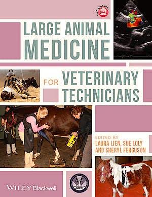 Portada del libro 9781118346716 Large Animal Medicine for Veterinary Technicians