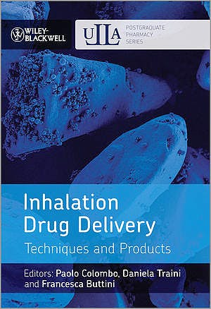Portada del libro 9781118354124 Inhalation Drug Delivery. Techniques and Products