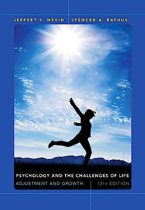 Portada del libro 9781118370360 Psychology and the Challenges of Life. Adjustment and Growth