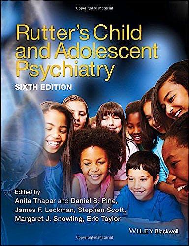 Portada del libro 9781118381960 Rutter's Child and Adolescent Psychiatry (Hardcover)