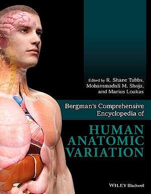 Portada del libro 9781118430354 Bergman's Comprehensive Encyclopedia of Human Anatomic Variation