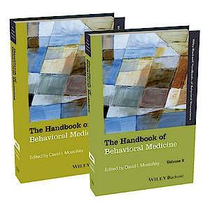 Portada del libro 9781118453995 The Handbook of Behavioral Medicine, 2 Vols.