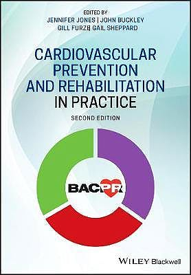 Portada del libro 9781118458693 Cardiovascular Prevention and Rehabilitation in Practice