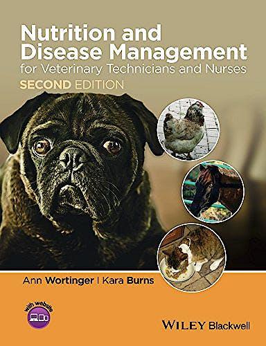 Portada del libro 9781118509272 Nutrition and Disease Management for Veterinary Technicians and Nurses