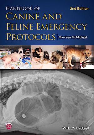 Portada del libro 9781118559031 Handbook of Canine and Feline Emergency Protocols