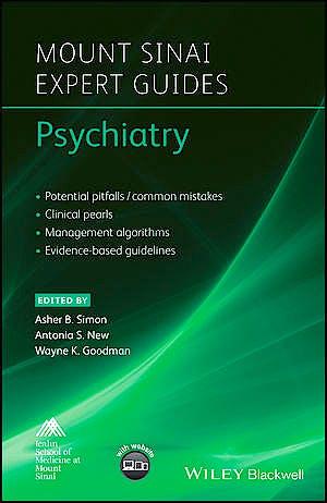 Portada del libro 9781118654286 Psychiatry (Mount Sinai Expert Guides)