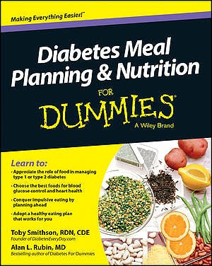 Portada del libro 9781118677537 Diabetes Meal Planning and Nutrition for Dummies