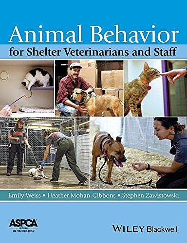 Portada del libro 9781118711118 Animal Behavior for Shelter Veterinarians and Staff