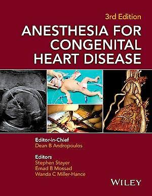 Portada del libro 9781118768259 Anesthesia for Congenital Heart Disease