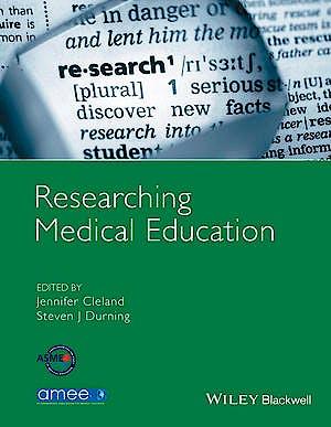 Portada del libro 9781118839201 Researching Medical Education