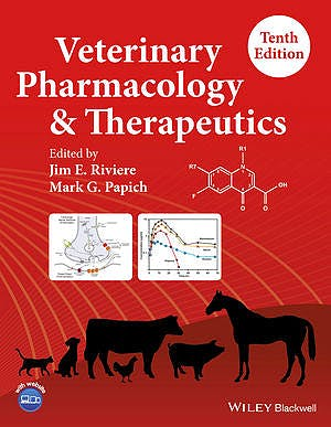 Portada del libro 9781118855829 Veterinary Pharmacology and Therapeutics